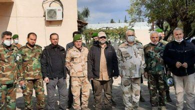Photo of السيّد اللواء وزير الدفاع وعدد من قادة جيشنا الوطني يُجرون زيارة ميدانية في منطقة نبع السلام